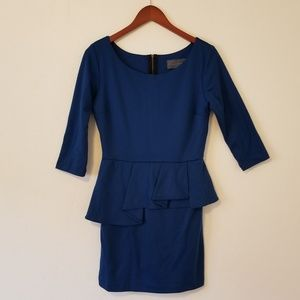 Anthropologie Peplum Dress